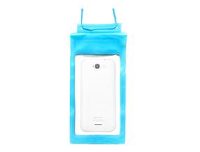 Phone Protective Bag PVC Transparent Velcro Waterproof Bag For Mobile Phone